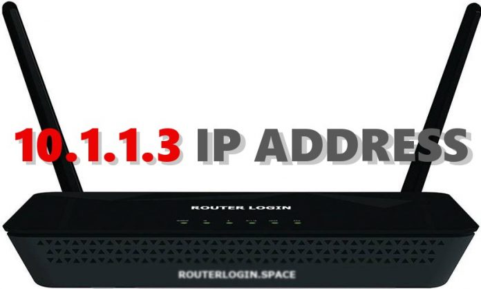 10.1.1.3 IP ADDRESS