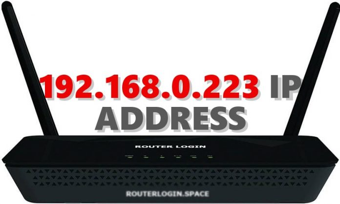 192.168.0.223 IP ADDRESS
