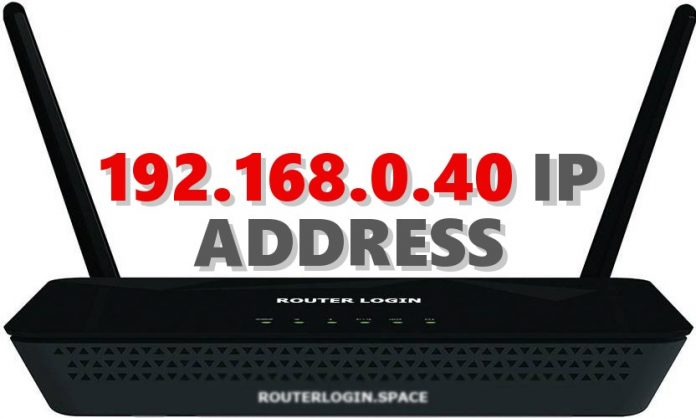 192.168.0.40 IP ADDRESS