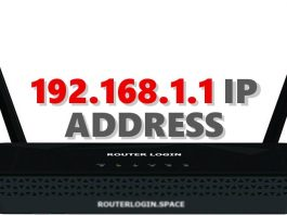 192.168.1.1 IP ADDRESS