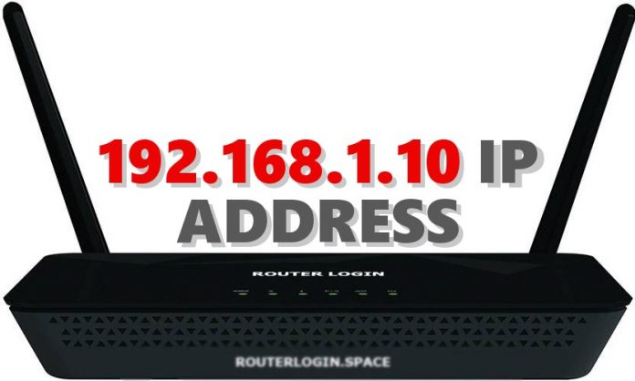 192.168.1.10 IP ADDRESS