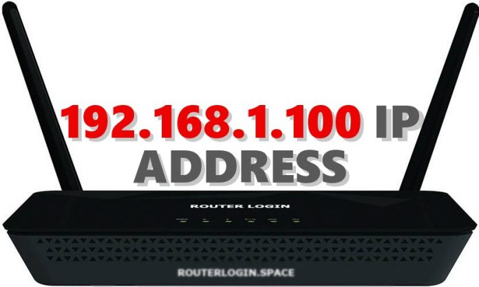 192.168.1.100 IP ADDRESS