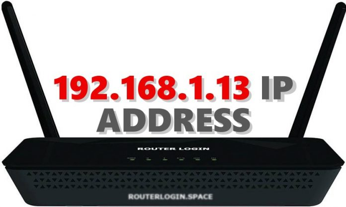 192.168.1.13 IP ADDRESS
