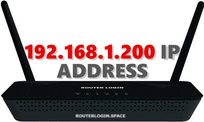 192.168.1.200 IP ADDRESS