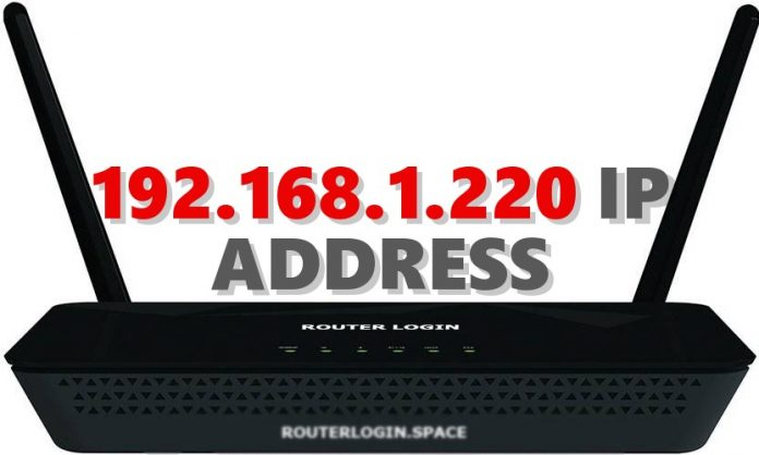 192.168.1.220 IP ADDRESS