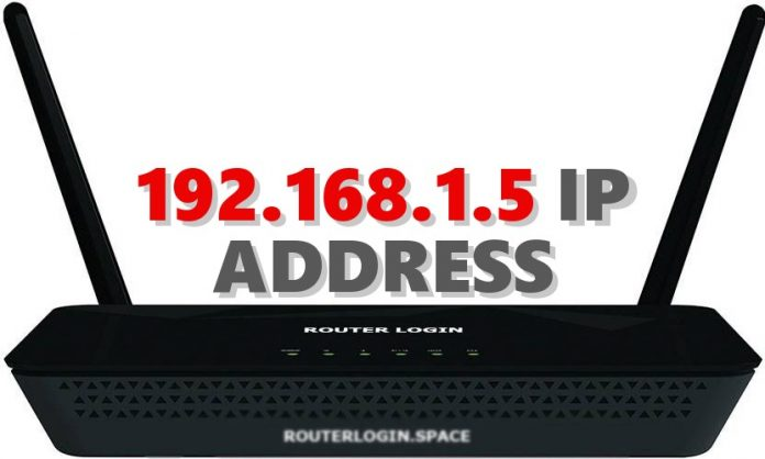 192.168.1.5 IP ADDRESS
