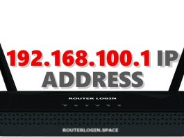 192.168.100.1 IP ADDRESS