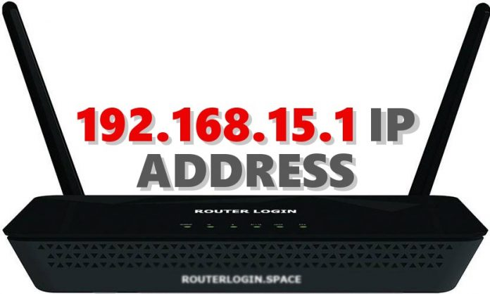 192.168.15.1 IP ADDRESS