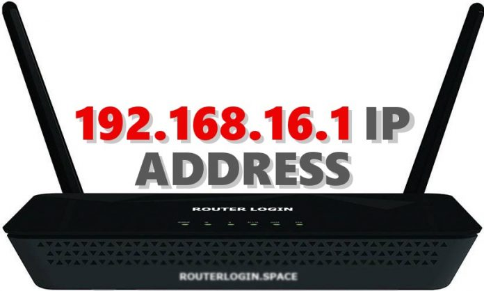 192.168.16.1 IP ADDRESS