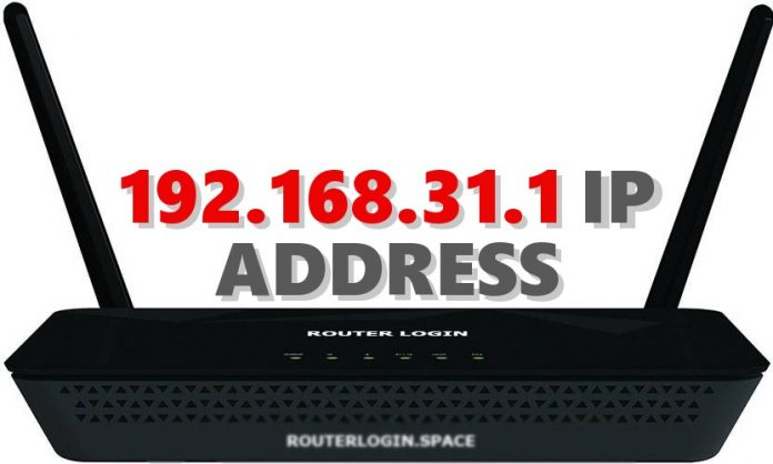 192.168.31.1 IP ADDRESS