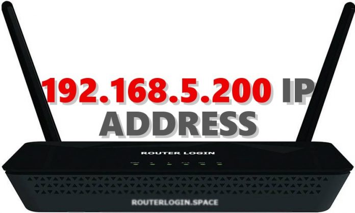 192.168.5.200 IP ADDRESS