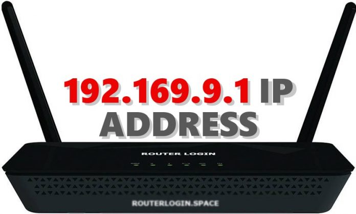 192.169.9.1 IP ADDRESS